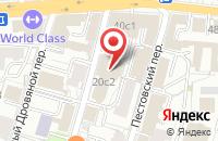 Схема проезда до компании Русбурмаш в Москве