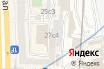 Схема проезда до компании УрбанСмайл в Москве