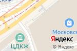 Схема проезда до компании АдвоПро в Москве