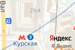 Схема проезда до компании Компания по созданию и продвижению веб-сайтов в Москве
