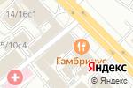 Схема проезда до компании Clockservice в Москве