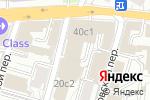 Схема проезда до компании Lobaev group в Москве