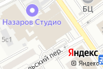 Схема проезда до компании АйТи Культура в Москве