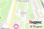 Схема проезда до компании Центр правовой экспертизы в Москве