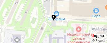 ЗапКарс на карте Москвы