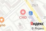 Схема проезда до компании Саншайн Инк в Москве