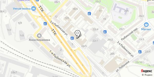 Atlantic. Схема проезда в Москве