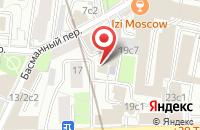 Схема проезда до компании Демиург-Арт в Москве