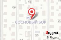Схема проезда до компании Сосновый бор в Ярлуково