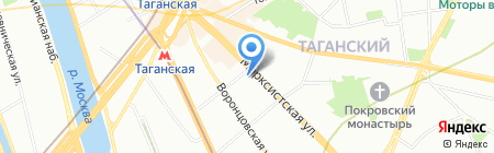 Банкомат БИНБАНК кредитные карты на карте Москвы