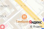 Схема проезда до компании Дифин в Москве