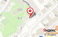 Схема проезда до компании Дизайнлюксстрой в Москве