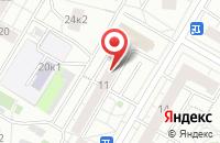 Схема проезда до компании Оптимус в Москве