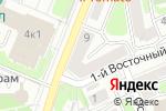 Схема проезда до компании Vangold в Москве