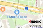 Схема проезда до компании Голден Гросс в Москве