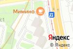 Схема проезда до компании Вечерние огни в Москве