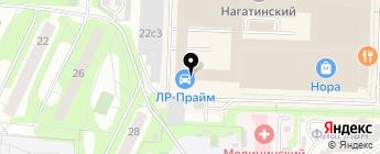 ЛР-Прайм на карте Москвы