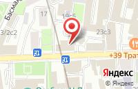 Схема проезда до компании Фирма «Клавель» в Москве