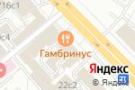 Схема проезда до компании Труффальдино в Москве
