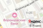 Схема проезда до компании Floorwood.pro в Москве
