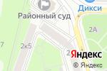Схема проезда до компании Формула Права в Москве