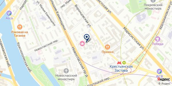 ПТФ КЕМИ на карте Москве