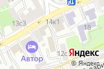 Схема проезда до компании КБ Спецстройбанк в Москве