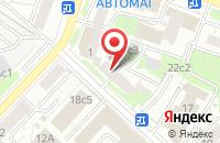 Схема проезда до компании Мебельный в Москве