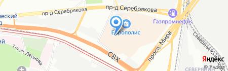 Ду-Шеш на карте Москвы