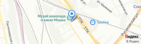 Красносельский на карте Москвы