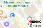 Схема проезда до компании МосШар в Москве