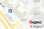 Схема проезда до компании Atlantic в Москве