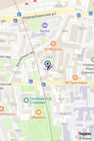 ПО ЭЛЕКТРОСЕТЬИЗОЛЯЦИЯ на карте Москвы