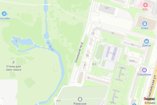 Ремонт телевизоров Олонецкий проезд на яндекс карте