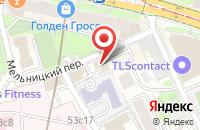 Схема проезда до компании КенигСтройСервис в Москве