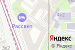 Схема проезда до компании The Blooming Days в Москве