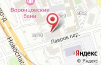 Схема проезда до компании Тема Япы в Москве