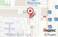 Схема проезда до компании Главмонтажпроект в Москве