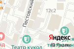 Схема проезда до компании Golder Electronics в Москве