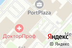 Схема проезда до компании Атлетика в Москве
