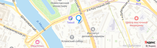 переулок Крутицкий 4-й