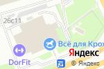 Схема проезда до компании Dorfit в Москве