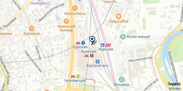 Салон красоты на карте Москве