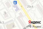 Схема проезда до компании Интер Экспо в Москве