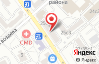 Схема проезда до компании Стройремсервис в Москве