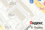 Схема проезда до компании Столичная печать в Москве