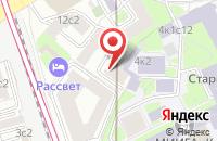 Схема проезда до компании Морион в Москве