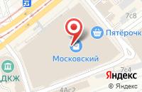 Схема проезда до компании Трансмагистраль в Москве