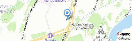 МКИМ на карте Москвы