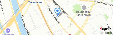 Дежурная аптека на карте Москвы